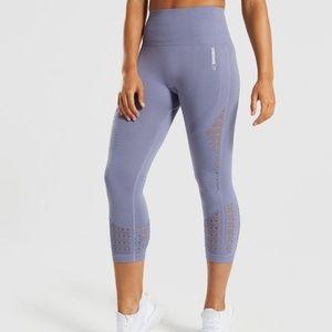 Gymshark Energy + Seamless Cropped Legging Size S